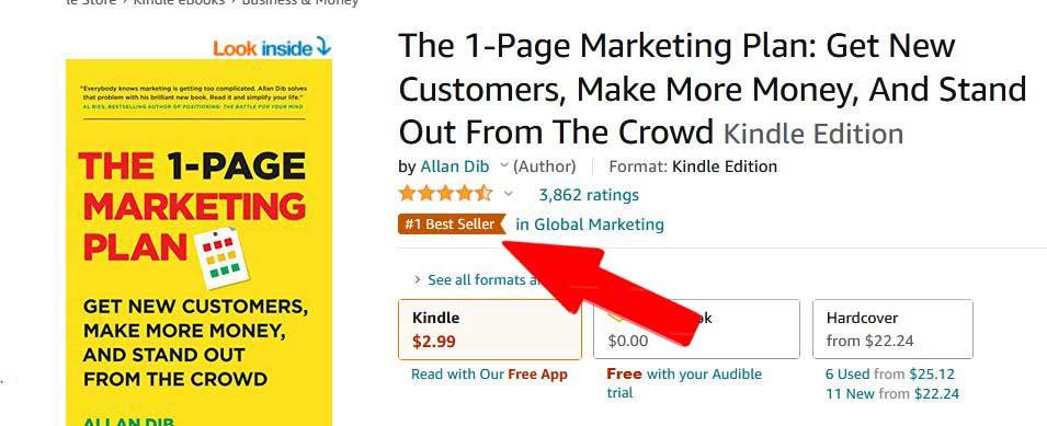 best seller بهترین کتاب بازاریابی